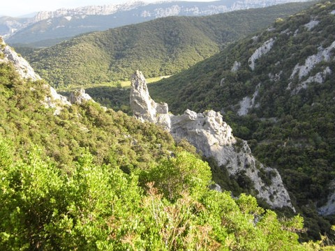 chateau de puilaurens, Gite, guest house, Languedoc  Roussillon aude, south france